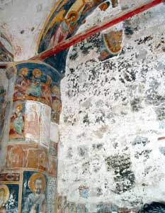 he priceless fresco of the Second Coming (15th century) of the monastery of Antiphonitis, in the town of Kalogrea